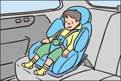 Child seat for infants
