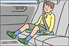 Child seat for schoolchildren